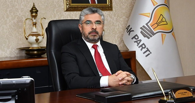 AK Parti İl Başkanı Ersan Aksu'dan Bayram Mesajı