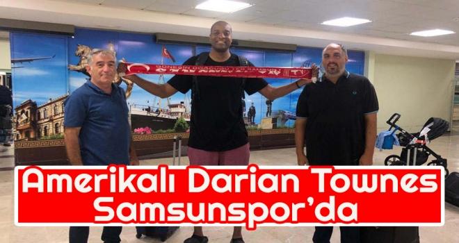Amerikalı Darian Townes Samsunspor'da