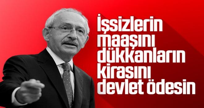 Kemal Kılıçdaroğlu'ndan hükümete mali yükü alın çağrısı