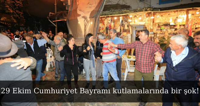 29 Ekim Cumhuriyet Bayramı kutlamalarında bir şok!