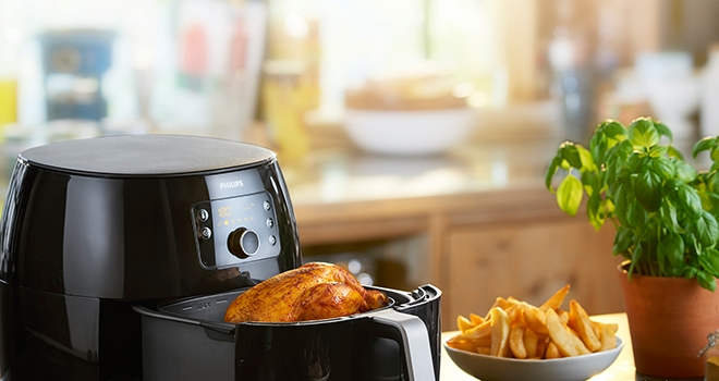 Yağsız ve Sağlıklı Yemekler İçin: Philips Airfryer XXL!
