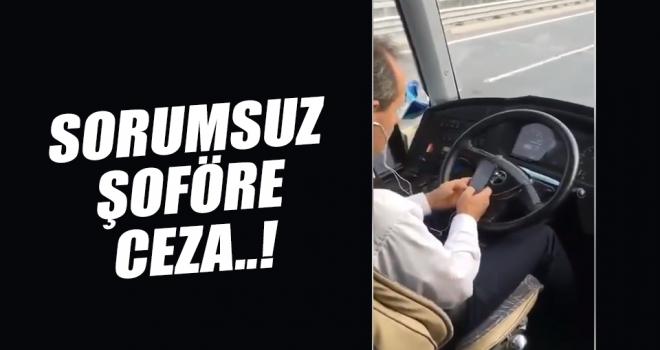 Kamil Koç Turizme ve Şoförüne Ceza..!