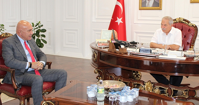 Samsunspor'dan İlkadım Belediyesi'ne Ziyaret