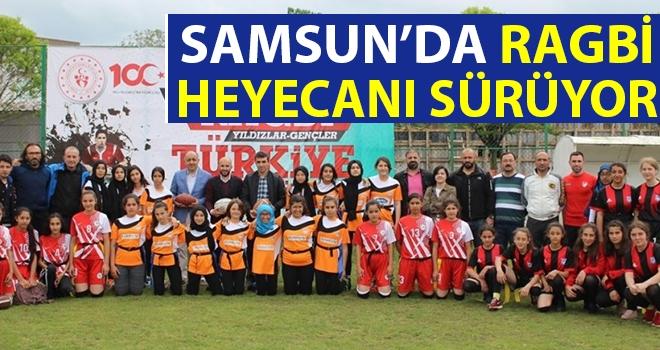 Samsun'da Ragbi Heyecanı