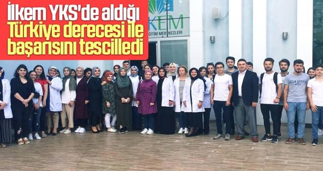 İlkem YKS'de Aldığı Türkiye Derecesi İle Başarısını Tescilledi