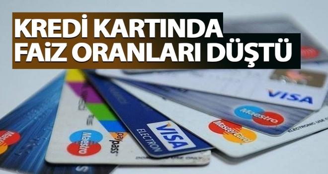 Kredi kartı faiz oranları düştü..!