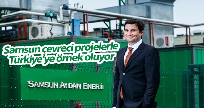 Samsun Çevreci Projelerle Türkiye'ye Örnek Oluyor