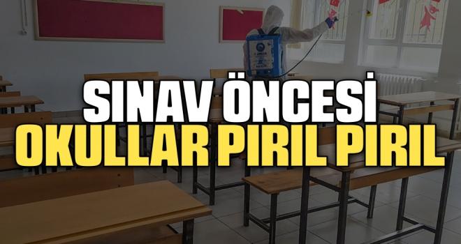 Sınav Öncesi Okullar Pırıl Pırıl