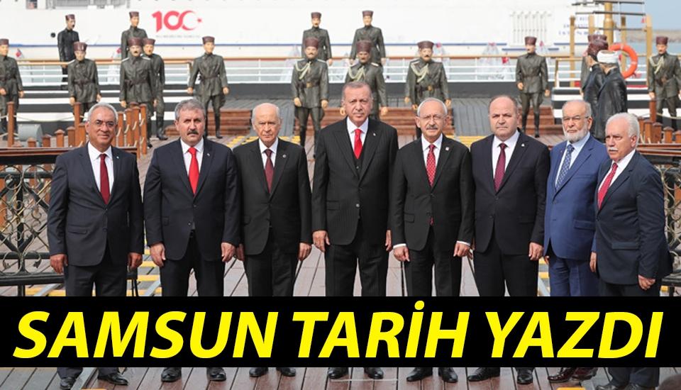 Samsun Tarih Yazdı..!