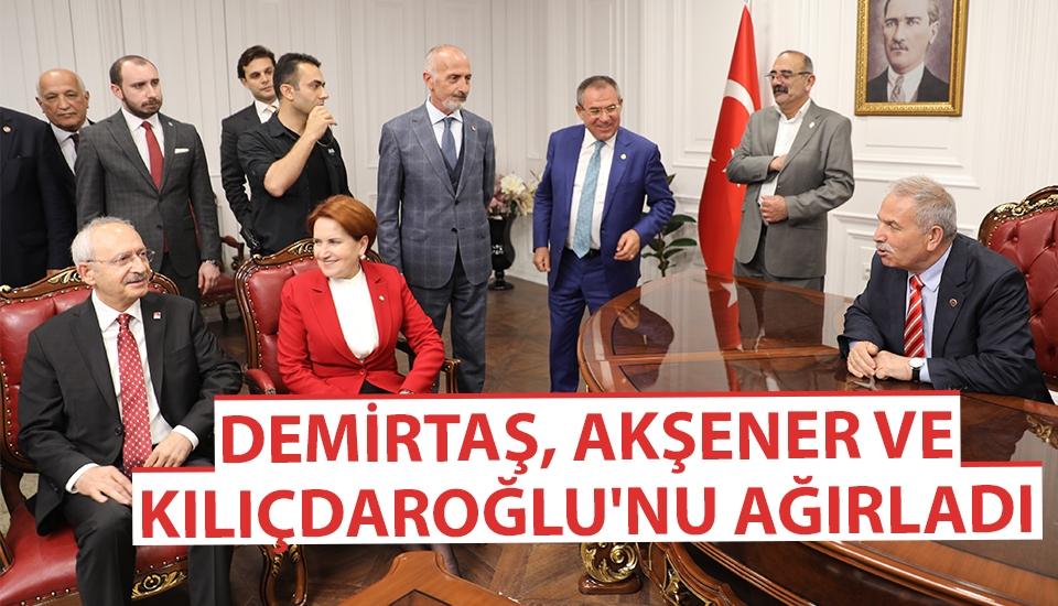 Demirtaş, Akşener ve Kılıçdaroğlu'nu Ağırladı