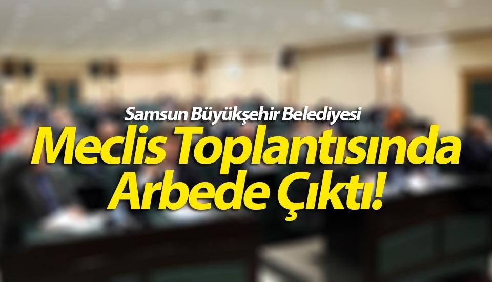 Samsun Büyükşehir Belediyesi Meclis Toplantısında Su Zammı Protesto Edilirken Arbede Çıktı