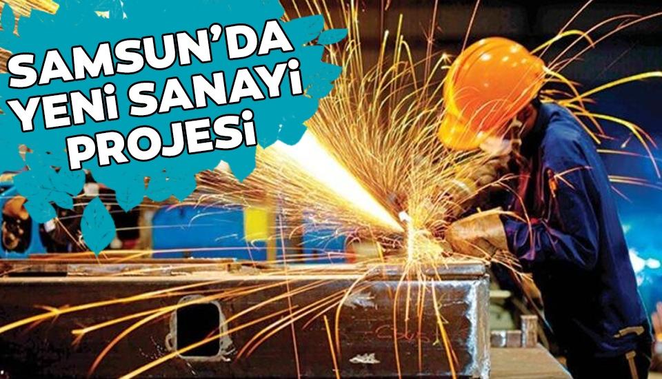Samsun Batı Küçük Sanayi Sitesi çalışmaları sürüyor