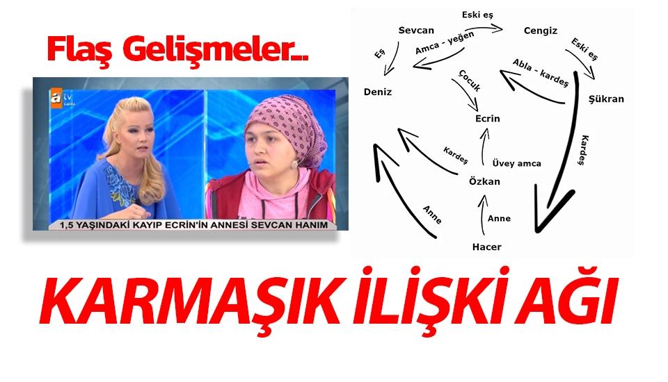 Müge Anlı'da Ecrin Kurnaz olayında karmaşık ilişki ağı...