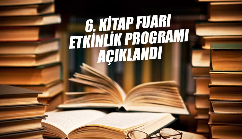 Karadeniz 6. Kitap Fuarı programı açıklandı