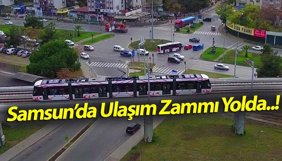 Samsun'da ulaşım zammı yolda..! Muhalefet Partileri Topladı..!