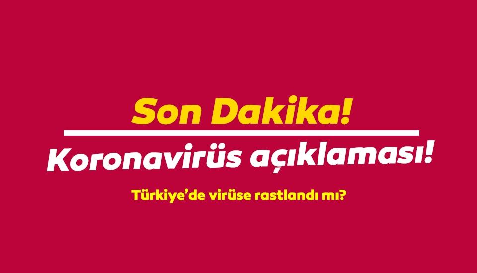 Sağlık Bakanı Fahrettin Koca'dan rahatlatan koronavirüs açıklaması