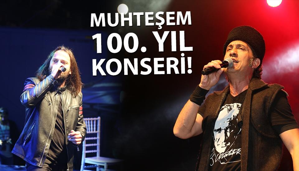 Atakum'da muhteşem 100. yıl konseri!