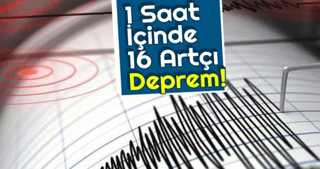 İstanbul'da 16 Artçı Deprem Meydana Geldi