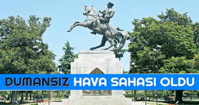 Anıt Park, Dumansız Hava Sahası' Oldu