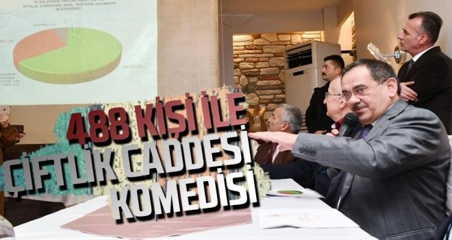 488 Kişiyle 'Çiftlik Anketi' Komedisi!