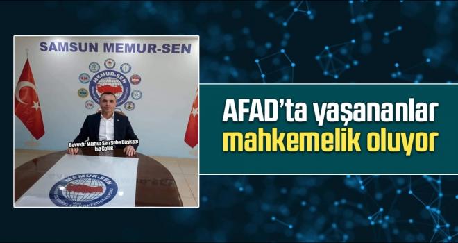AFAD'ta Yaşananlar Mahkemelik Oluyor