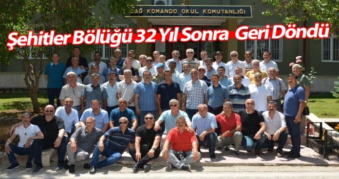 Şehitler Bölüğünden 32 Yıl Sonra Acemi Birliğine Ziyaret