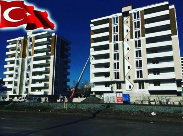 Samsun'da satılık sıfır daireler